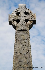 Celtic Cross, Peel Isle of Man © Peter Killey
