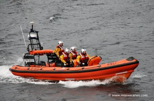 Port Erin's Inshore Lifeboat - Muriel and Leslie © Peter Killey