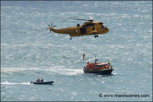 Douglas Lifeboat Exercise © Peter Killey