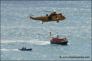 Douglas Lifeboat Exercise © Peter Killey