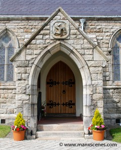 The entrance to the Royal Chapel in St Johns - © Peter Killey
