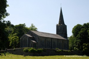 Kirk Christ Church - Lezayre © Peter Killey