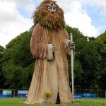 The Giant Wizard at Mannifest 2011 © Peter Killey