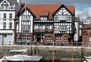 The British Hotel on North Quay Douglas - © Peter Killey