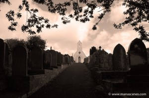 Kirk Braddan New Cemetery - © Peter Killey