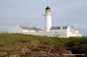Langness Lighthouse, Holiday home of Jeremy Clarkson - © Peter Killey