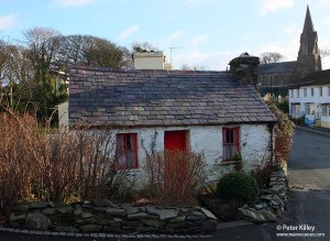 Molly Carooin's Cottage in Onchan - © Peter Killey