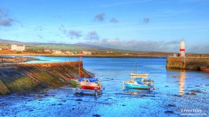 Port St Mary Inner Harbour in HDR - © Peter Killey