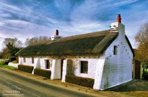 Thatched Cottage - Cranstal Bride - © Peter Killey
