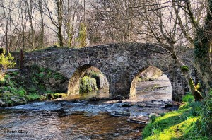 Monks Bridge in Ballasalla - © Peter Killey