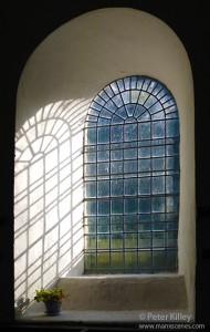 """""""Simple Shadows"""" at Kirk Braddan old Church - © Peter Killey"""