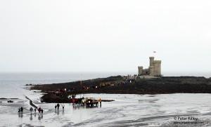 Tower of Refuge Low Tide Walk - © Peter Killey