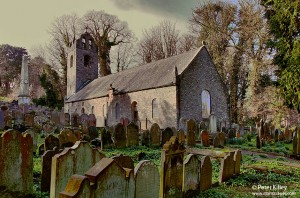 Kirk Braddan Old Church, Isle of Man - © Peter Killey