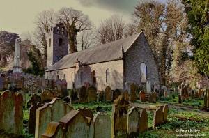 Kirk Braddan Old Church, Isle of Man - © Peter Killey