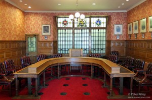 Legislative Council Chamber - Isle of Man - © Peter Killey