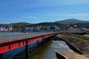 Ramsey Swing Bridge Isle of Man - © Peter Killey