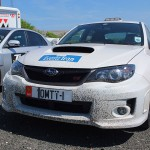 IOMTT 1 - The official Subaru Roads Opening Car for TT 2012 - © Peter Killey