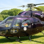 One of the 2 Airmed Helicopters which are here for TT 2012 - © Peter Killey
