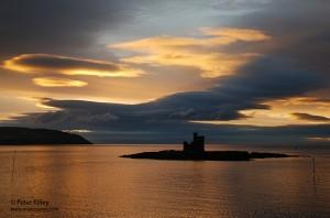 Sunrise over Douglas Bay © Peter Killey