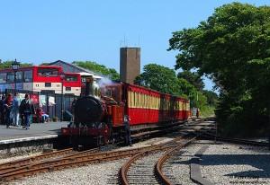 Steam Train No 4 Loch at Port Erin Station - © Peter Killey