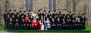 Isle of Man Political Leaders at Tynwald Day on July 5th 2012 - © Peter Killey