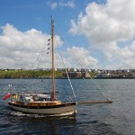 "The ""Sara Ann"" at Peel Traditional Boat Weekend - © Peter Killey"