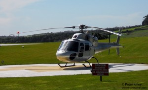 Nobles Hospital Civilian Emergency Helicopter - © Peter Killey