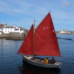 Entering Castletown Harbour (original) - © Peter Killey
