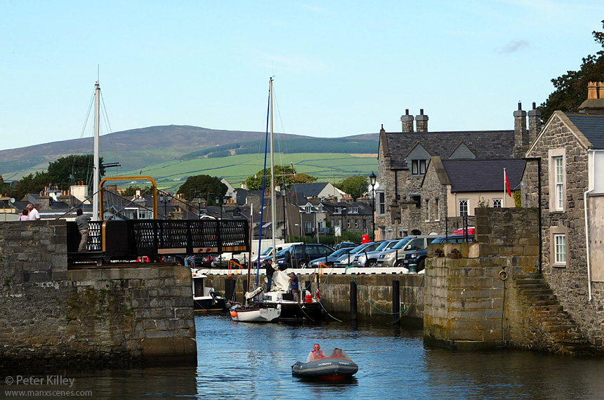 Castletown Harbour and Footbridge - © Peter Killey