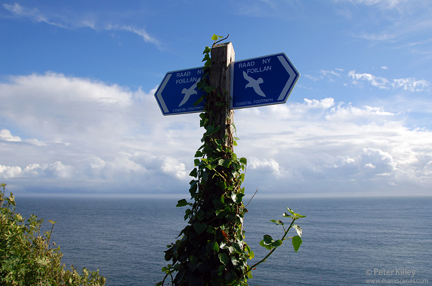 The Raad Ny Foillan better known as the Coastal Path - © Peter Killey