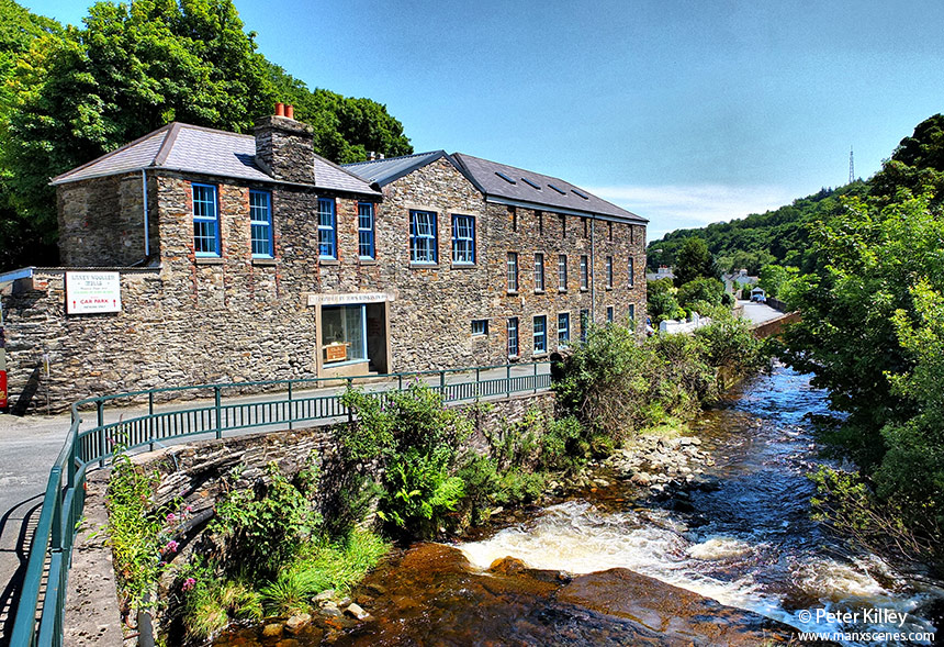 Laxey Woolen Mills on Glen Road - © Peter Killey