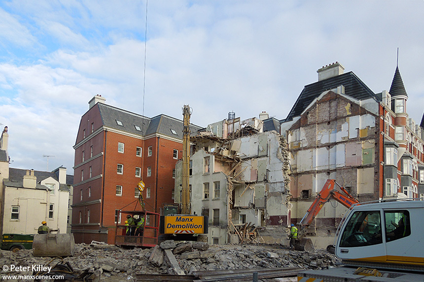 The Nearly Demolished Mannin Hotel 26th October 2012 - © Peter Killey