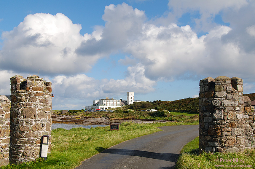 A view towards the former Castletown Golf Links Hotel - © Peter Killey