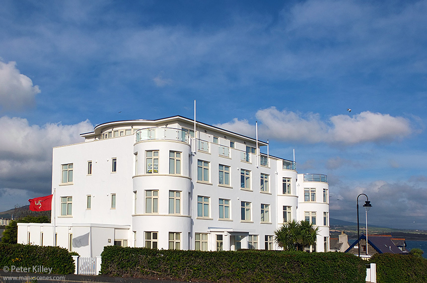 The Former Point Hotel in Port St Mary - © Peter Killey