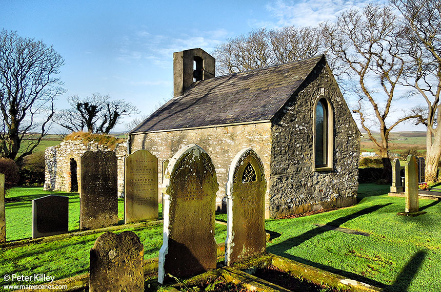 St Adamnans Church, Old Kirk Lonan  -  © Peter Killey