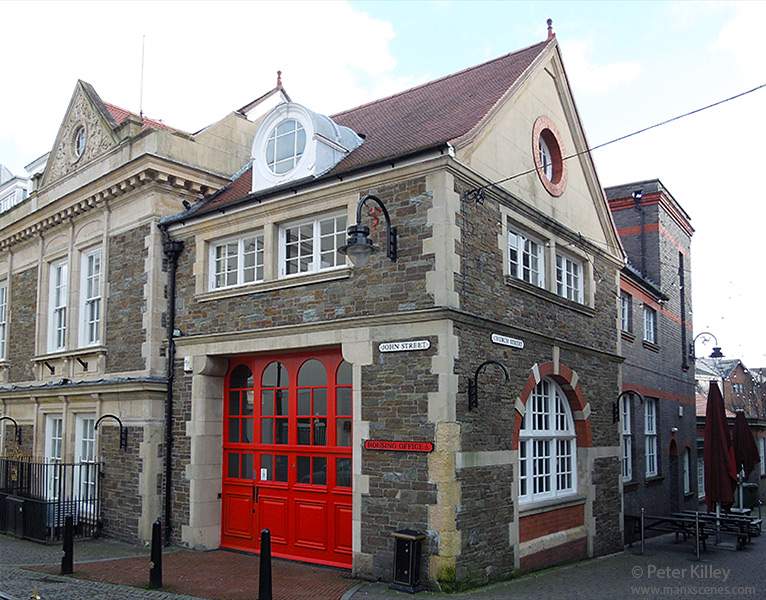 The Former Douglas Fire Station in John Street – © Peter Killey