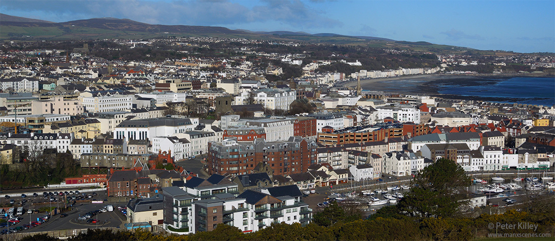 The Heart of Douglas, Isle of Man © Peter Killey