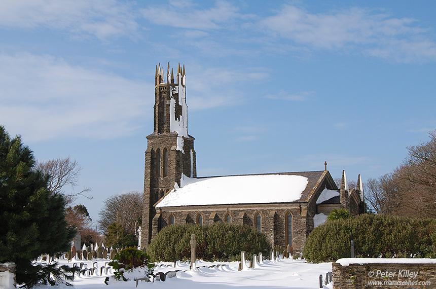 St Mary's Church - Ballaugh - © Peter Killey