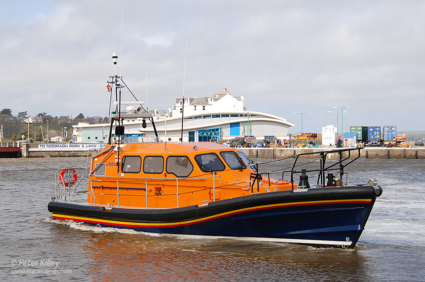 The RNLI prototype Shannon class all-weather lifeboat - © Peter Killey