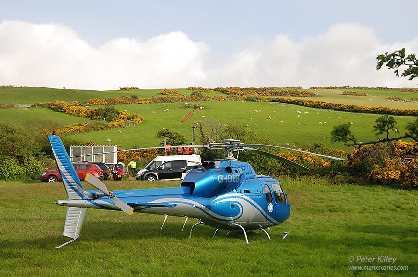 Airmed at Isle of Man TT 2013 - © Peter Killey