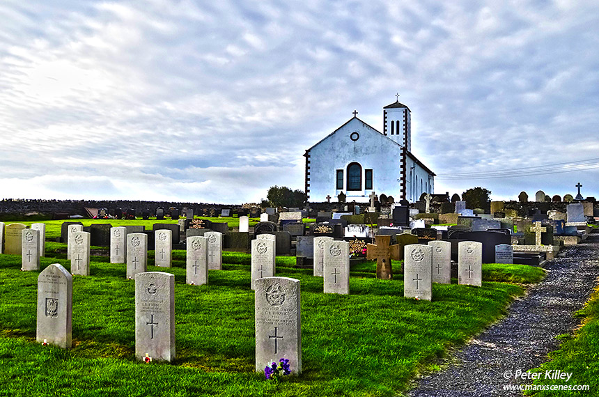 St Patricks Church or better known as Jurby Church © Peter Killey
