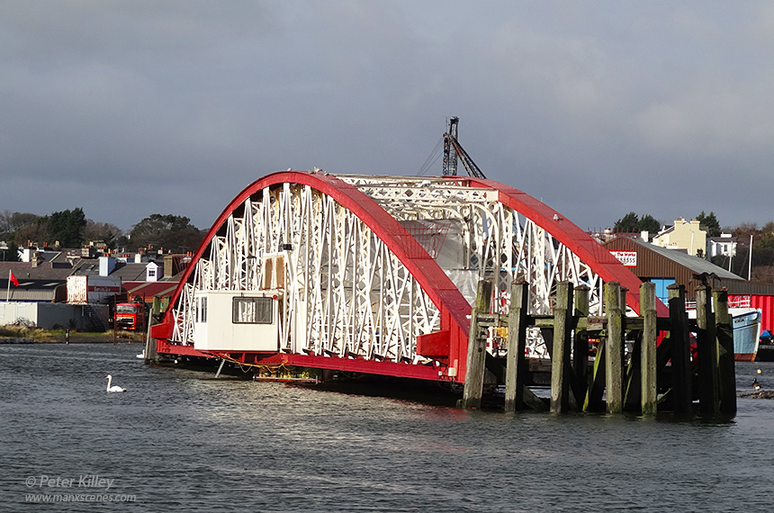 Ramsey Harbour Swing Bridge © Peter Killey
