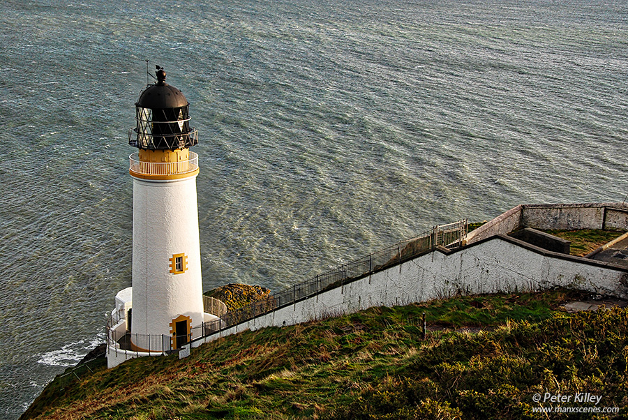 Maughold Head Lighthouse © Peter killey - www.manxscenes.com