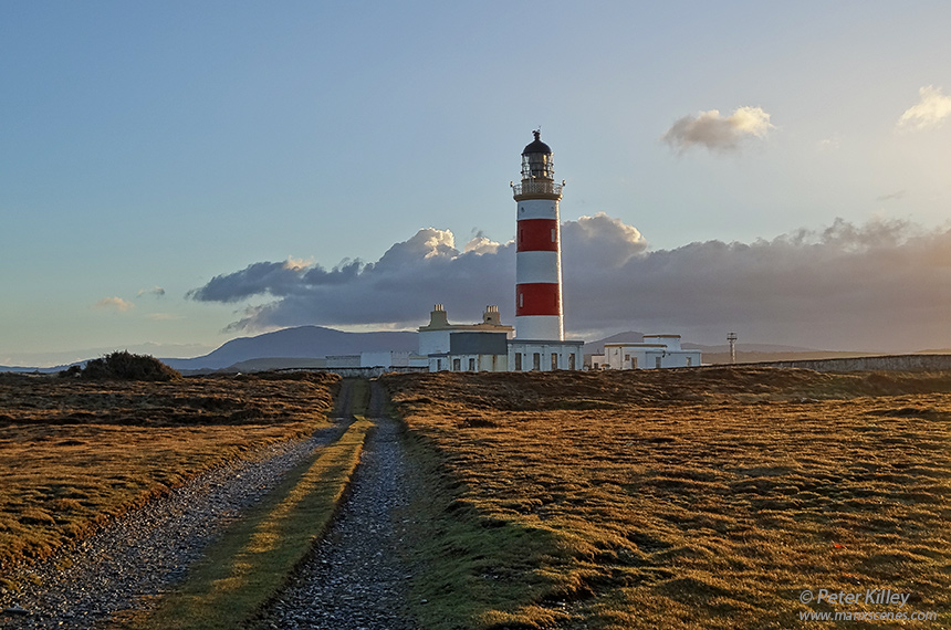 Point of Ayre Lighthouse © Peter Killey - www.manxscenes.com