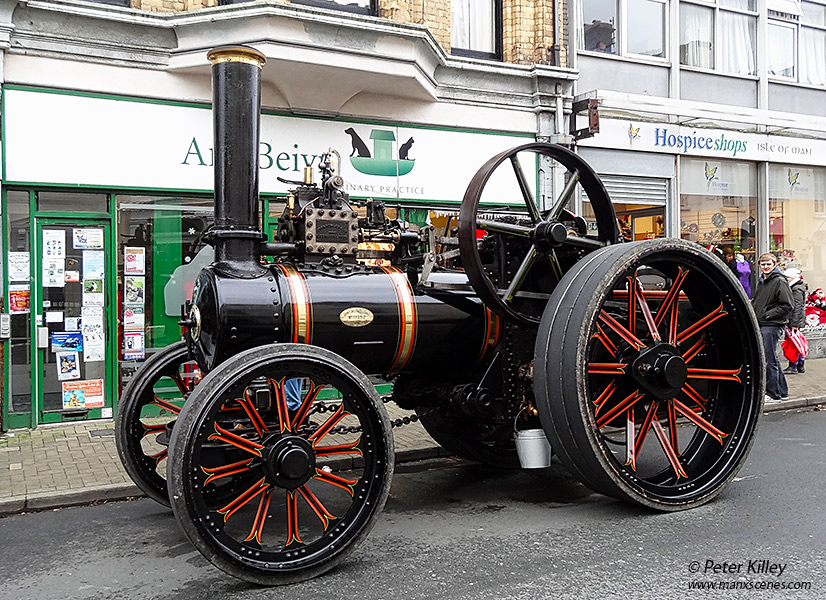 Steam Traction Engine 434 MN - Ramsey © Peter Killey - www.manxscenes.com
