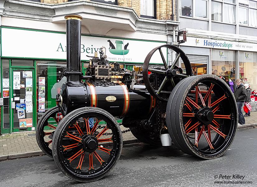 Steam Traction Engine 434 MN - Ramsey © Peter Killey - www.manxscenes.com
