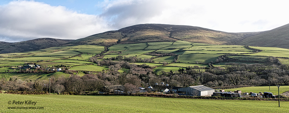 Our Green Hills of Mann © Peter Killey - www.manxscenes.com