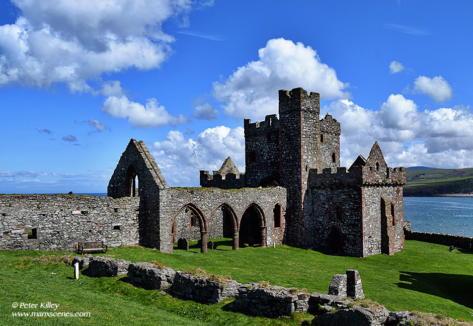 St. German's Cathedral - Peel Castle © Peter Killey - www.manxscenes.com