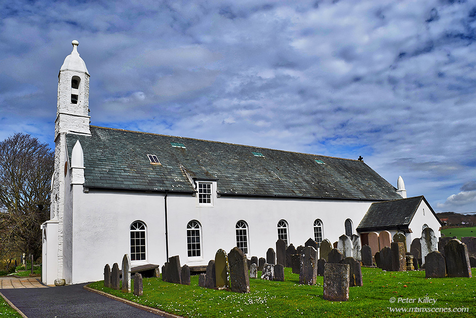 Rushen Parish Church © Peter Killey - www.manxscenes.com