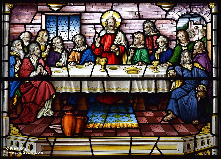 Santon Church - the Last Supper © Peter Killey - www.manxscenes.com
